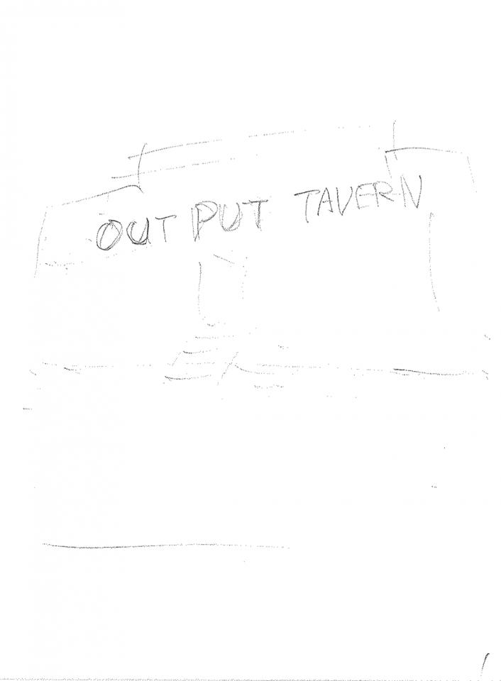 4/25(木)発売「モーニング」21・22合併号 #207「OUTPUT TAVERN」