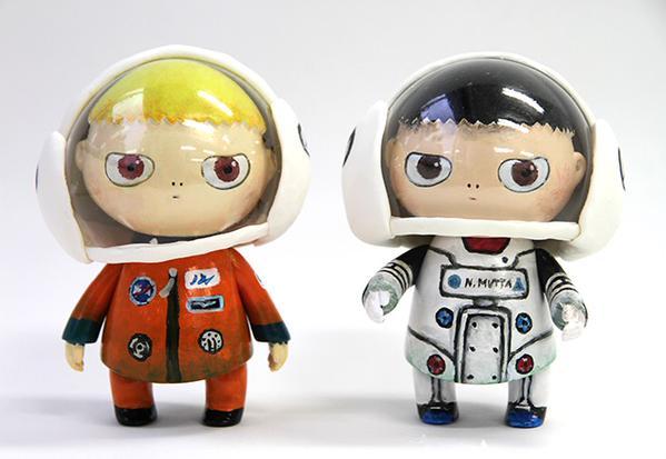 月面着陸フィギュア製作ストーリー☆手塗りならでは、世界にたったひとつのオリジナル