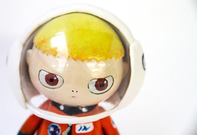 さらに深堀り!月面着陸フィギュア製作ストーリー☆ヘルメットとパッケージ