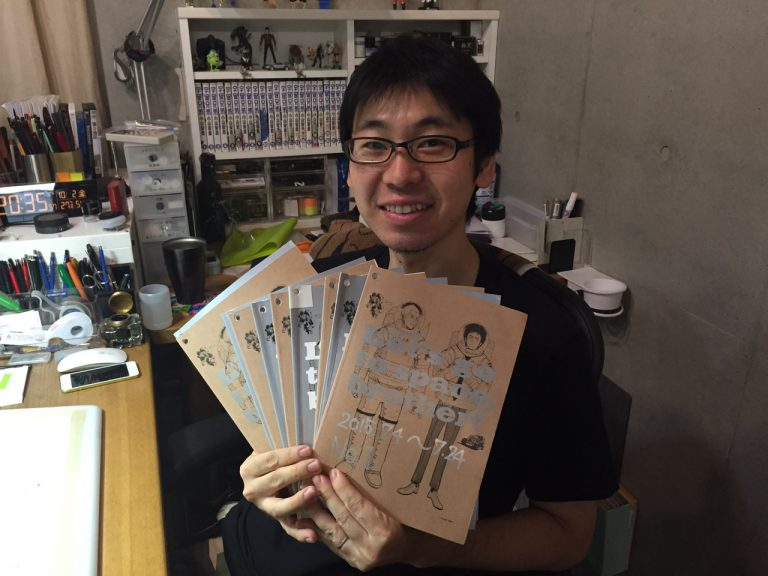 たくさんのメッセージありがとうございます★宇宙兄弟展秋田会場のメッセージノートを渡しました!