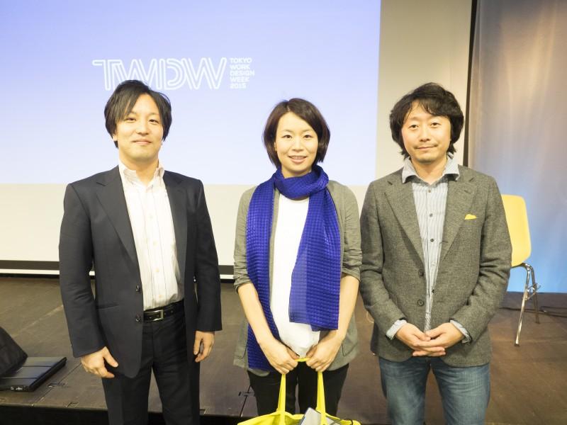 (左)アクセルスペース代表取締役 中村さん (中央)株式会社ALE 代表取締役社長 岡島 礼奈さん (右)サイエンスライター 森 旭彦さん
