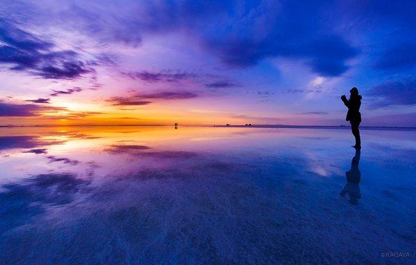 第二回 ウユニ塩湖で「星の野原」に立つ