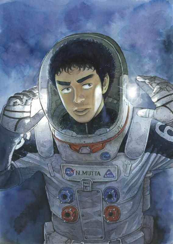 『宇宙兄弟』最新28巻の表紙をついに公開!予約特設サイトがオープンしました☆