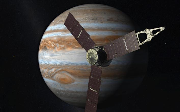 《号外》宇宙人生ー今日、NASAの探査機ジュノーが木星到着!!