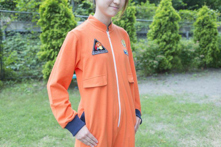 宇宙服風ルームウェア、ブルーM/Lは完売!オレンジとキッズサイズも残り少しです…!