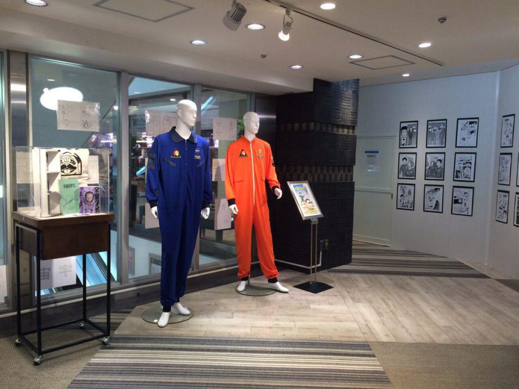 宇宙兄弟複製原画展、ルミネエスト新宿5Fにて開催中です☆