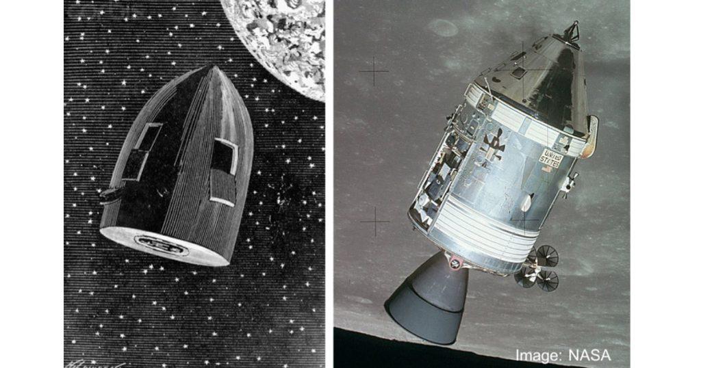 SFの父は、約100年前にアポロ計画を予言していた?!