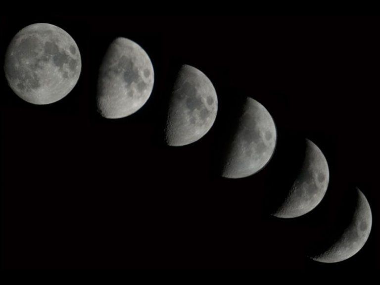 宇宙の不思議!月はどうして見え方が変わるの?