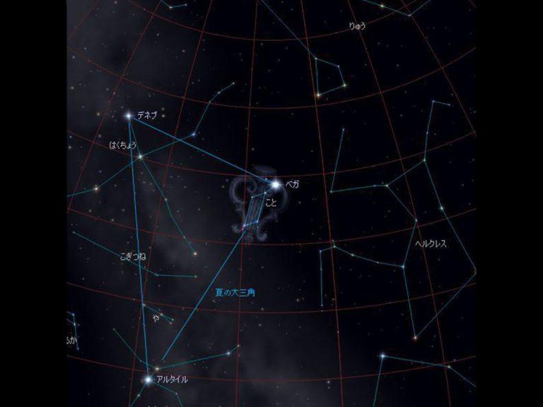天体観測をしよう!夏の星座