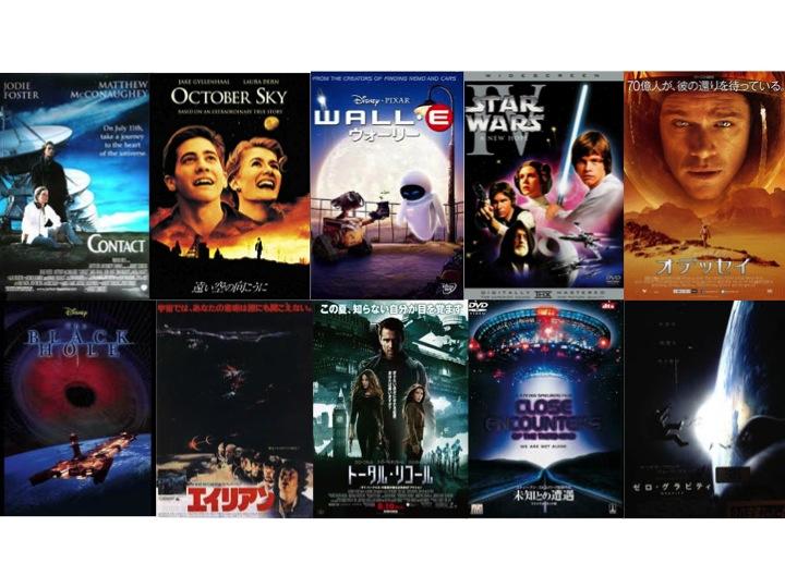 宇宙がもっと楽しくなる映画10選