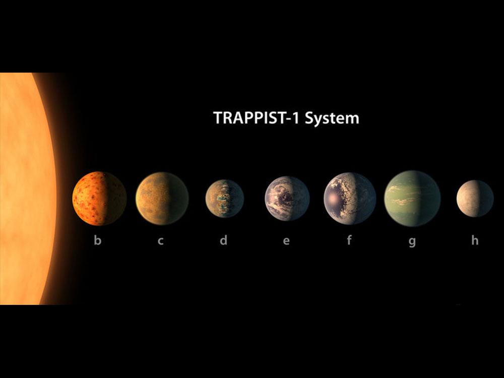 """《速報》7つの""""地球サイズの惑星""""を従えた恒星系が見つかる!そのうち3つがハビタブルゾーンに。"""