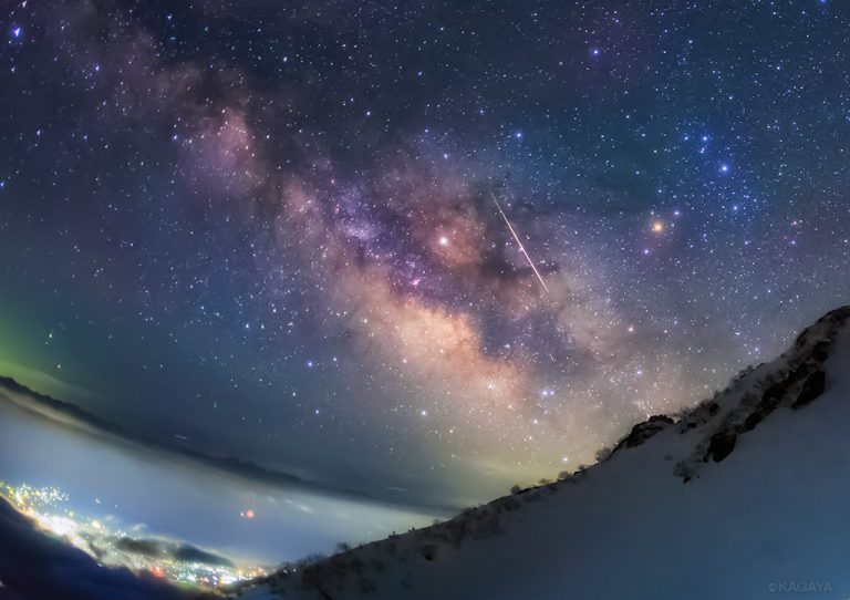 KAGAYA星空ギャラリー 第30回 ~長野・中央アルプス こと座流星群〜