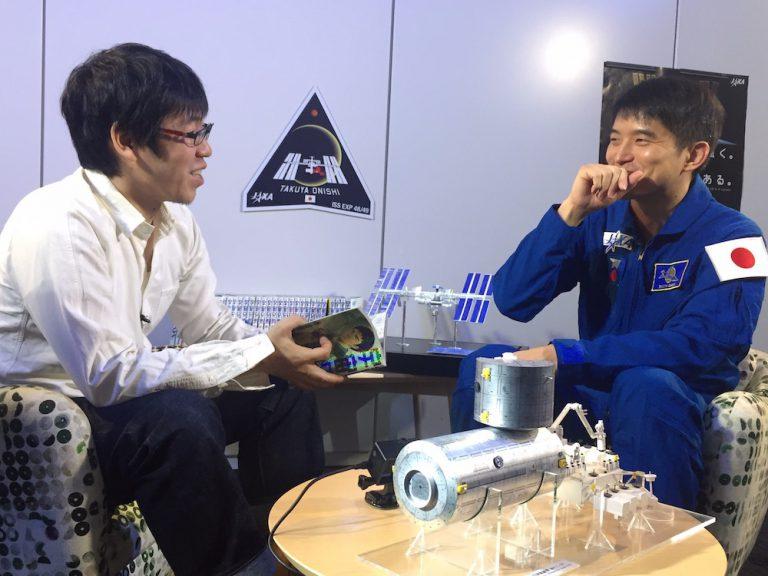 【大西卓哉宇宙飛行士×小山宙哉3-1】スペシャル対談更新です☆