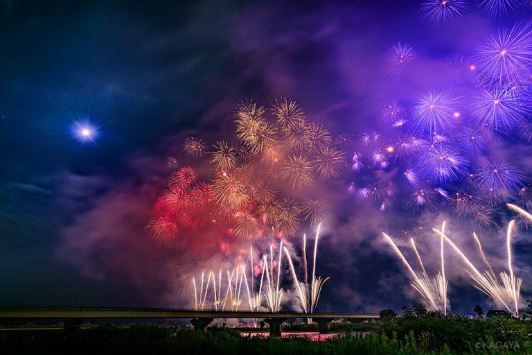 "KAGAYA星空ギャラリー更新! ""日本三大花火""長岡まつり大花火大会と星月夜☆"