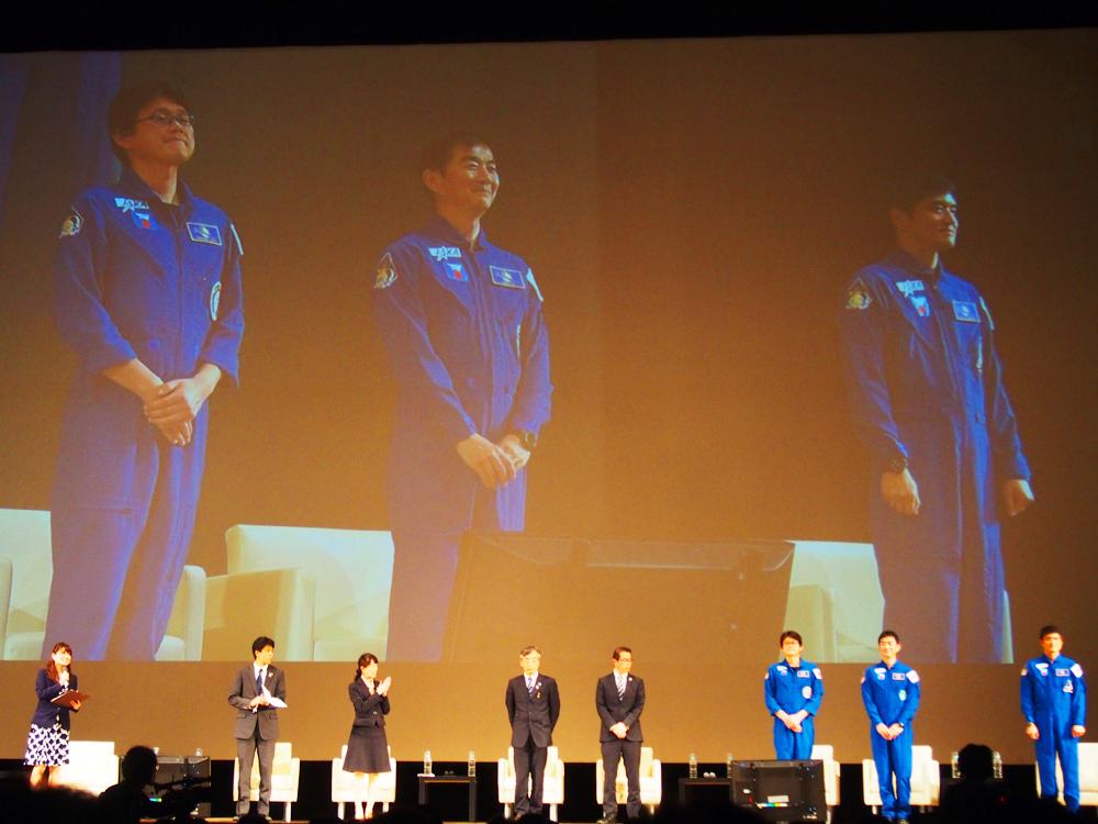 ISS長期滞在予定の金井宇宙飛行士☆『SPACE MEETS YOKOHAMA きぼう、その先へ』でその想いを語る!