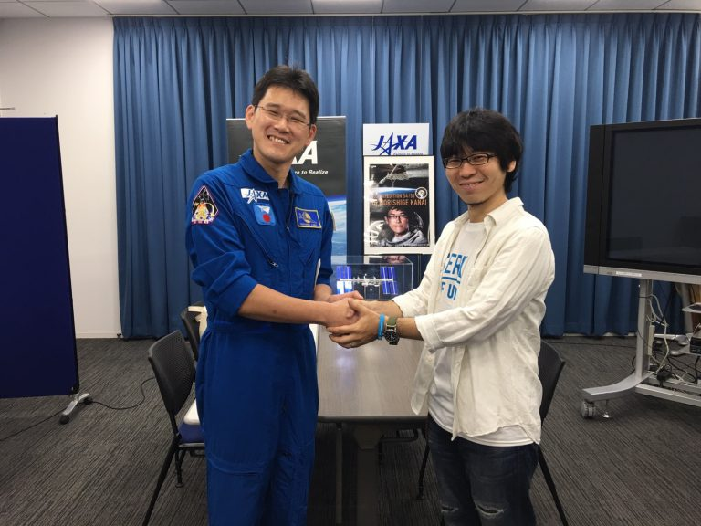 【金井宣茂宇宙飛行士×小山宙哉】 スペシャル対談・前半