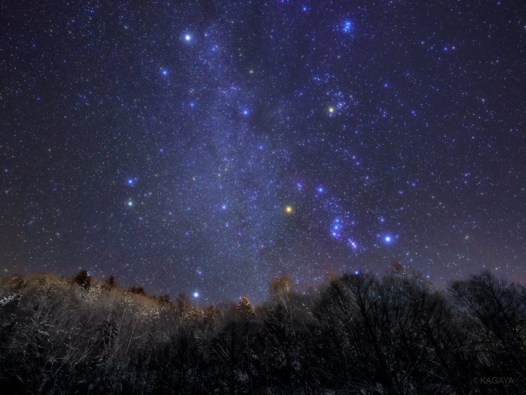KAGAYA 星空ギャラリー 第42回 ~北海道・冬の星座~