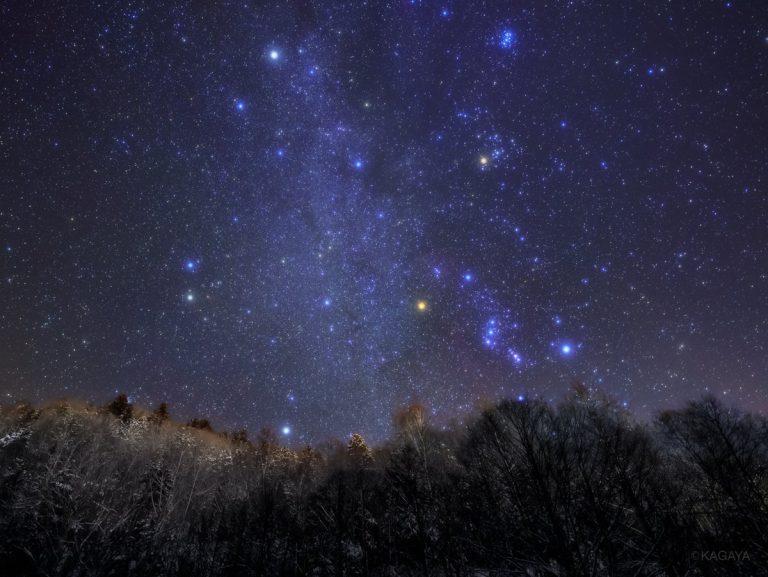KAGAYA星空ギャラリー更新!美しい冬の星座をご紹介♪