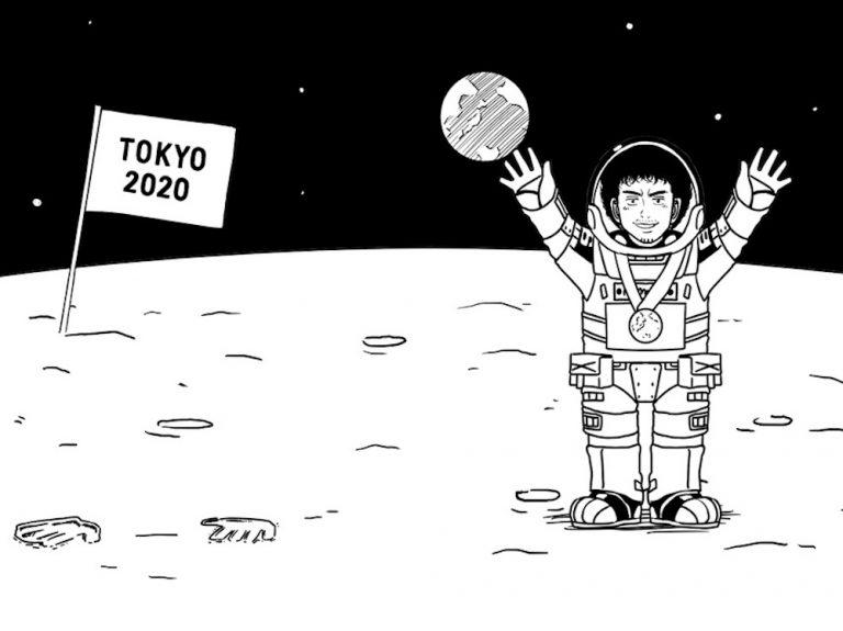 『宇宙兄弟』パラパラ漫画は宇宙空間でパラパラとめくれるか!?東京オリンピックを盛り上げる企画発表!!