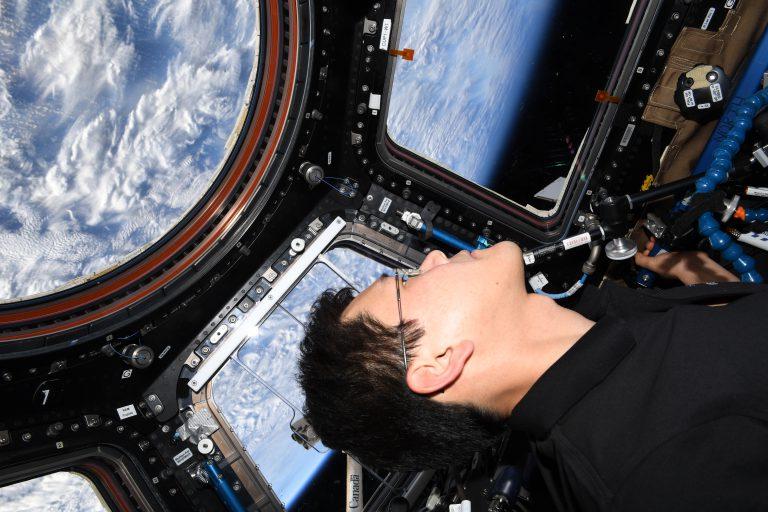 ISS滞在中の金井宇宙飛行士にスペシャルインタビュー!!