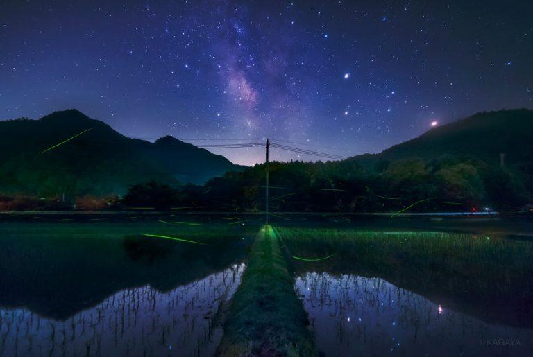 KAGAYA星空ギャラリー更新!神秘的な星月夜をお届け♪