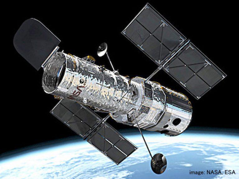 宇宙の姿を映し出す!ハッブル宇宙望遠鏡