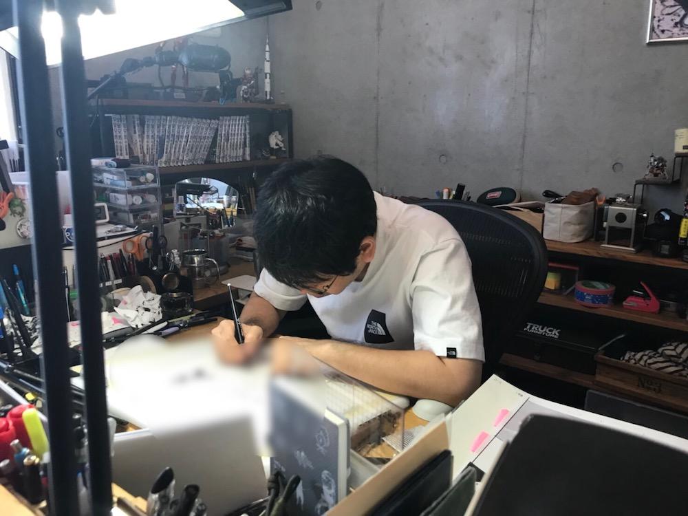 本日発売の「モーニング」に『宇宙兄弟』325話掲載!生原稿公開☆