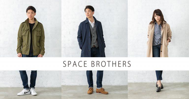 宇宙兄弟アパレルショップ『SPACE BROTHERS』の開催4日目も元気に営業中♪