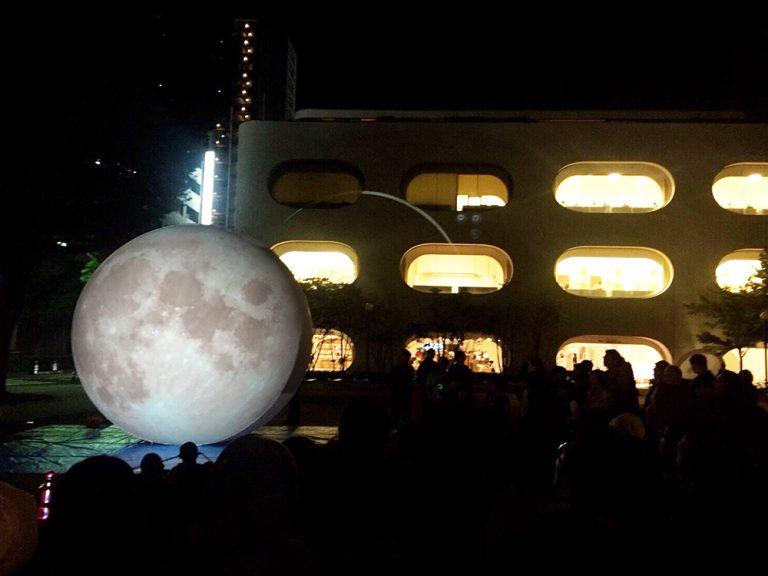 4mの巨大バルーンに天体をプロジェクションマッピング ☆〜スターバルーン2018〜