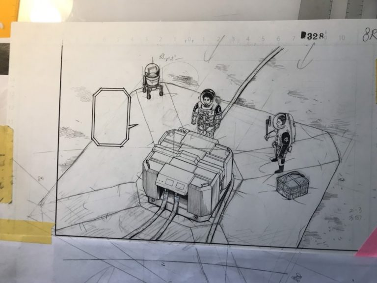 本日発売の「モーニング」に『宇宙兄弟』328話掲載!生原稿公開☆