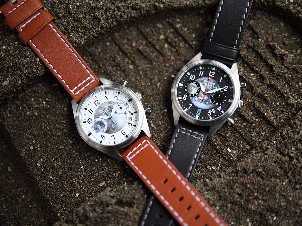 時計好きの小山宙哉がデザイン監修!宇宙を感じながら、時を刻む「宇宙兄弟カジュアルリストウォッチ【10周年記念アイテム】」ができました。