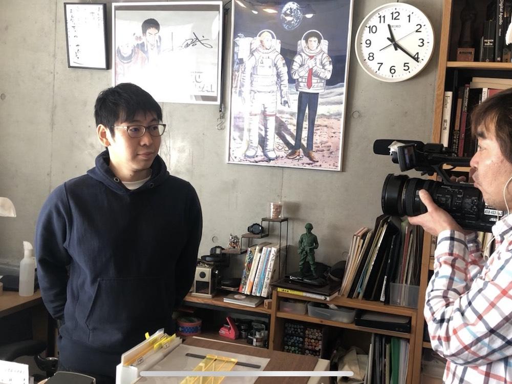 テレビ東京「先輩に相談だ!!」に小山宙哉が出演!!