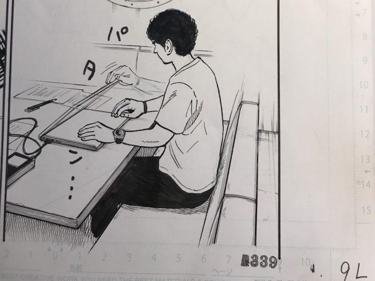 本日発売の「モーニング」に『宇宙兄弟』339話掲載!生原稿公開☆