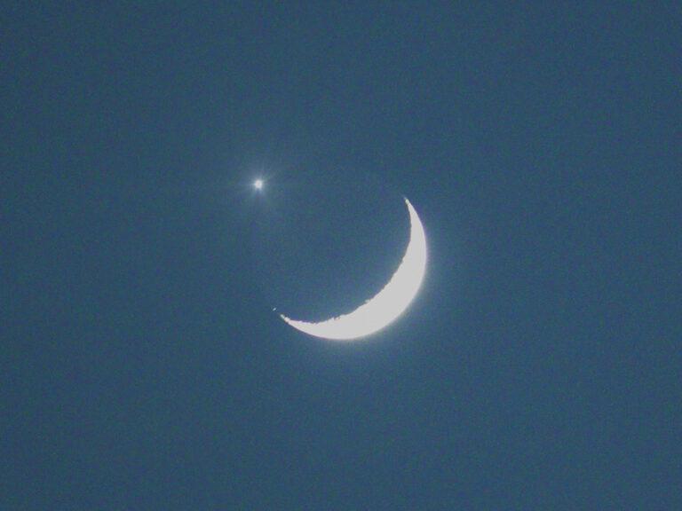 9月上旬は月と火星の接近に注目!